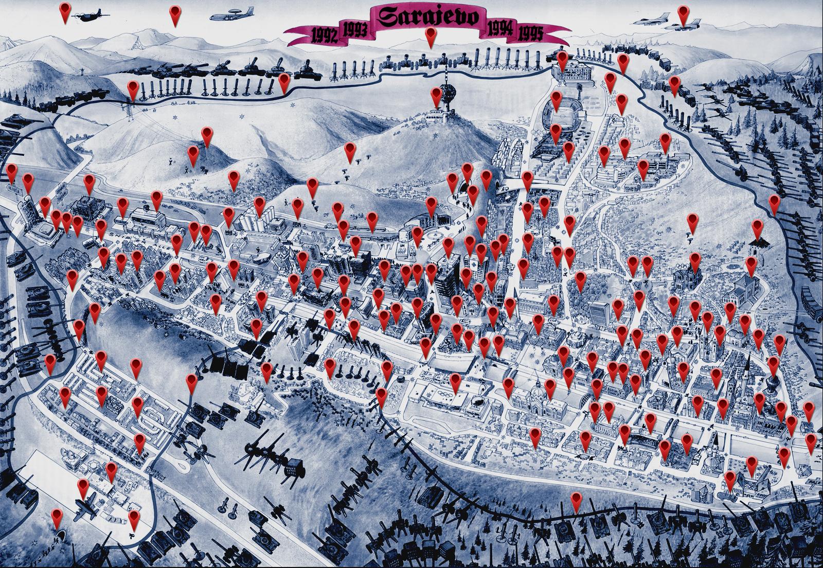 Opsada Sarajeva 1992 1996 Bosanskehistorije Com